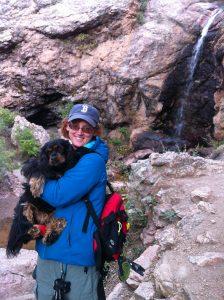 Ann Hiking with Emma
